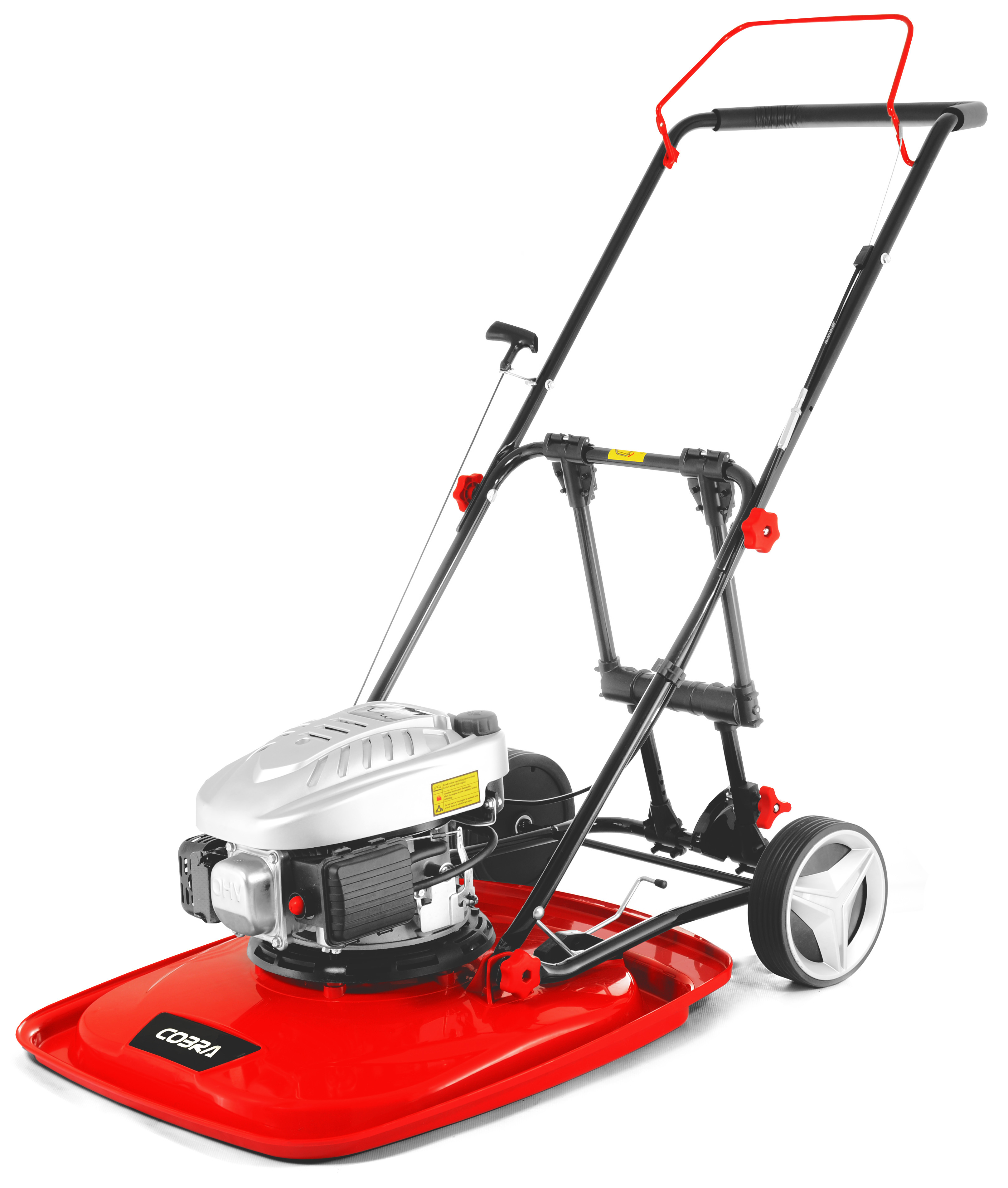 """Cobra AirMow 20"""" Petrol Hover Mower"""