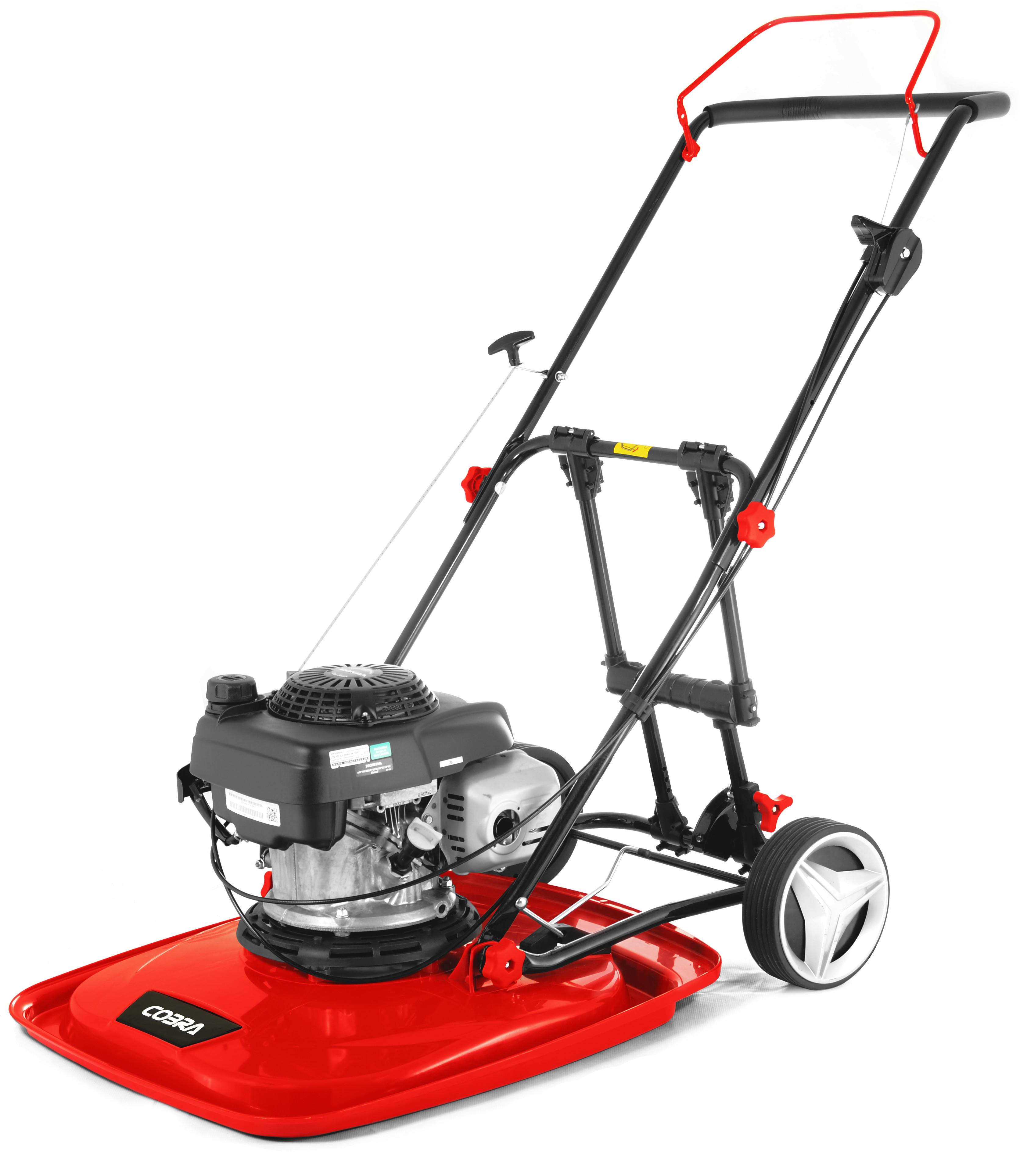 """Cobra AirMow Pro 20"""" Petrol Hover Mower"""