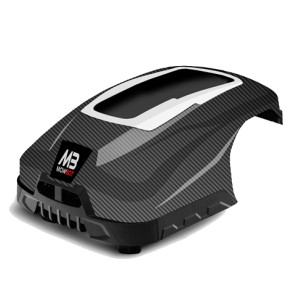 Carbon Fibre COVER ONLY Fits both Mowbot 800 & 1200 models